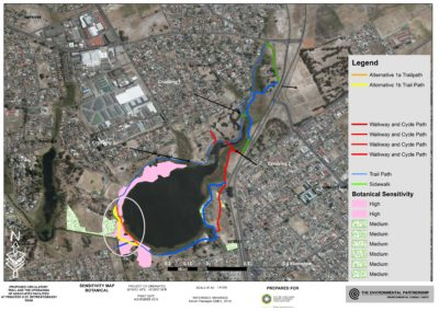 NOTIFICATION OF THE AVAILABILITY OF THE BASIC ASSESSMENT REPORT FOR COMMENT AND PERUSAL FOR THE PROPOSED CONSTRUCTION OF A CIRCULATORY TRAIL AND UPGRADING OF THE ECO-CENTRE ADJACENT TO PRINCESS VLEI, RETREAT / GRASSY PARK