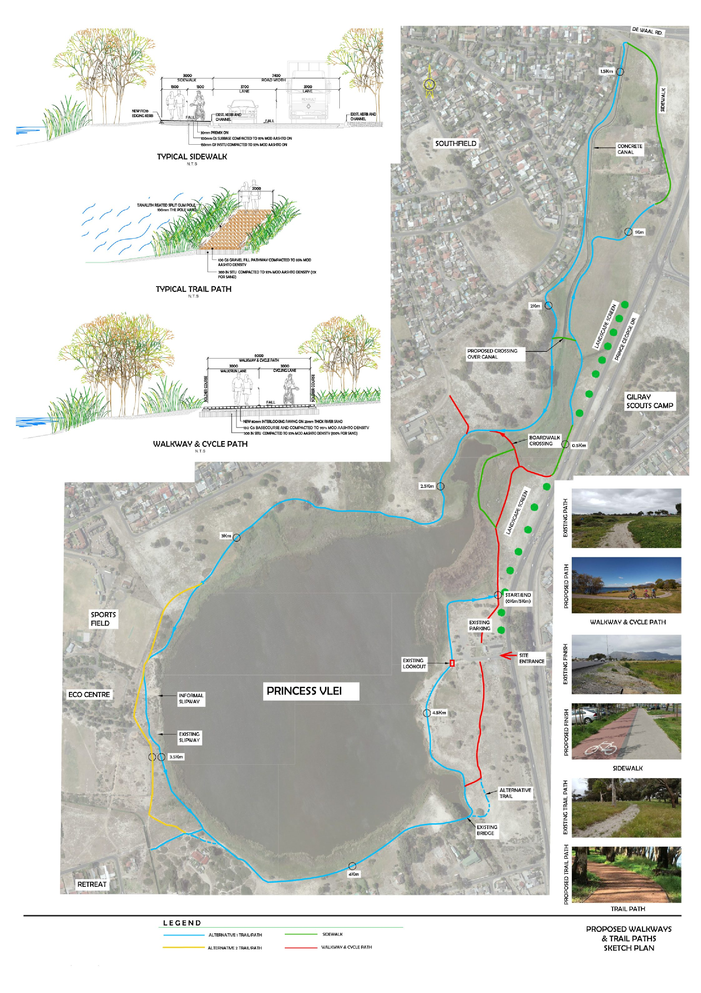 NOTIFICATION OF ENVIRONMENTAL AUTHORISATION – ENVIRONMENTAL IMPACT ASSESSMENT FOR THE PROPOSED CONSTRUCTION OF A CIRCULATORY TRAIL AROUND THE PRINCESS VLEI AND THE UPGRADING OF ASSOCIATED FACILITIES IN THE PRINCESS VLEI PARK, RETREAT, WESTERN CAPE. DEA&DP REFERENCE: 16/3/3/1/A6/64/2057/19
